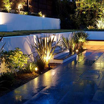 led garden lights and lighting - Garden Lighting