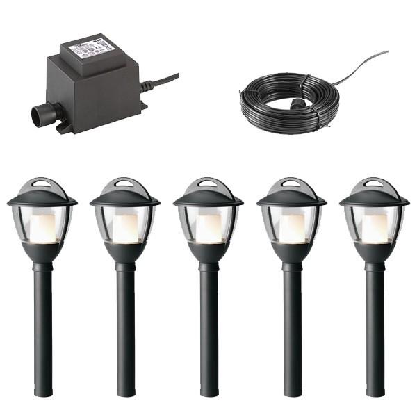 Mains Versus Low Votage For Garden Lighting - Mains Versus Low Voltage For Garden Lighting