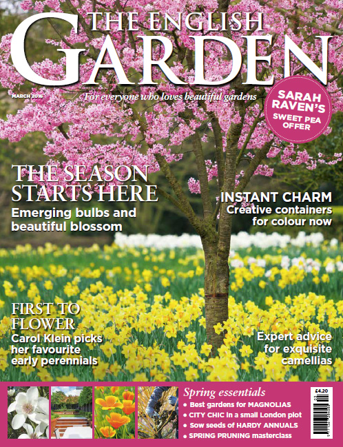 Garden Lighting London in English Garden Magazine