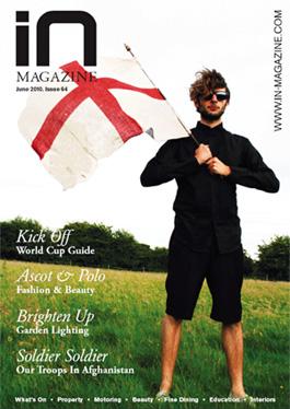in magazine cover june 2010 - Press Articles