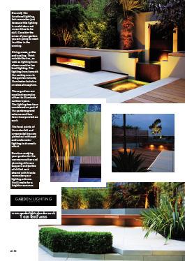 Garden Lighting London in In Magazine