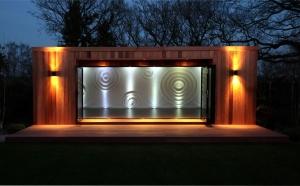 GardenroomTheydon2 300x186 - Garden Lighting Gallery