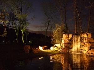 water keeper panorama 300x225 - Garden Lighting Gallery